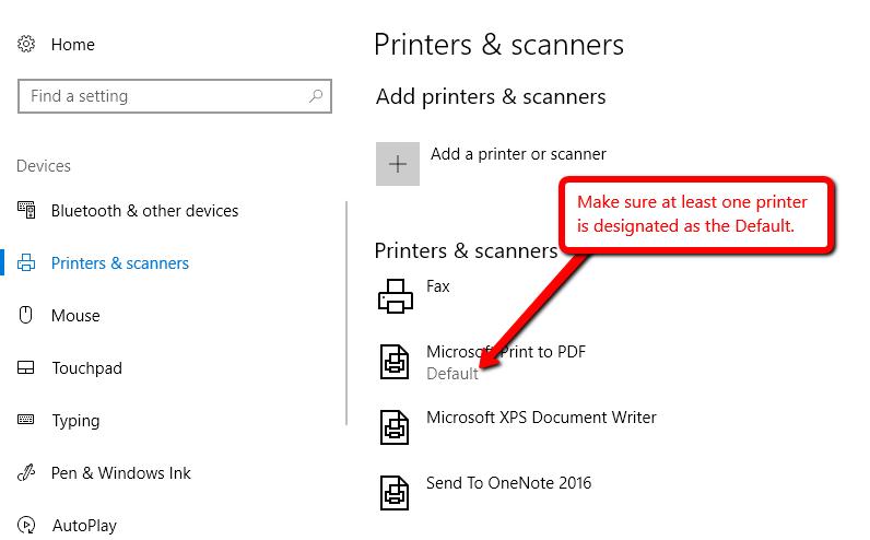 Printing Troubles – MasterCook Community